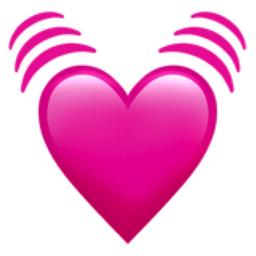 Beating Heart Emoji U 1f493