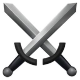 Crossed Swords Emoji U 2694 U Fe0f