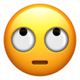 Face With Rolling Eyes Emoji U 1f644