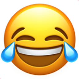 Face with Tears of Joy Emoji (U+1F602)