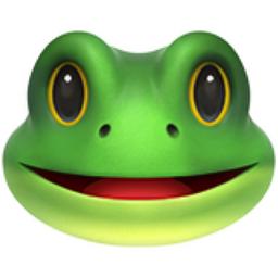 Frog Face Emoji U 1f438