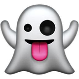 Ghost Emoji (U+1F47B)