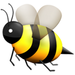 bumble bee clipart black and white
