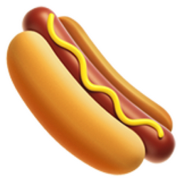 Hot Dog Ascii Art