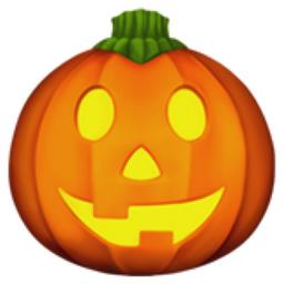 Jack-O-Lantern Emoji (U+1F383)