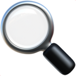 magnifying glass emoji 2 - photo #4