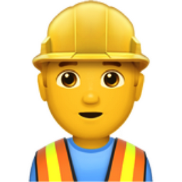 Man Construction Worker Emoji U 1f477