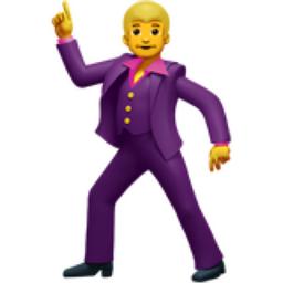 Man Dancing Emoji U 1f57a