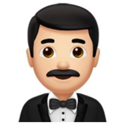Man In Tuxedo Light Skin Tone Emoji U 1f935 U 1f3fb