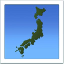 Map Of Japan Emoji UFFE - Japan map data