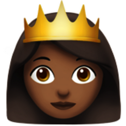 Princess Medium Dark Skin Tone Emoji U 1f478 U 1f3fe
