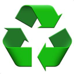 Recycling Symbol Emoji U 267b U Fe0f