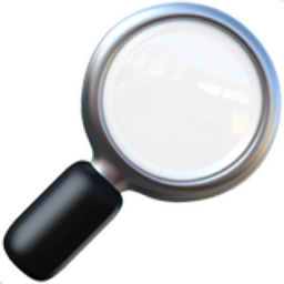 magnifying glass emoji 2 - photo #12