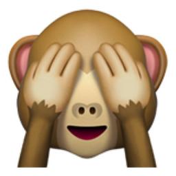 see no evil monkey emoji u 1f648. Black Bedroom Furniture Sets. Home Design Ideas