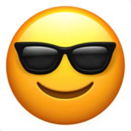 Smiling Face With Sunglasses Emoji U 1f60e