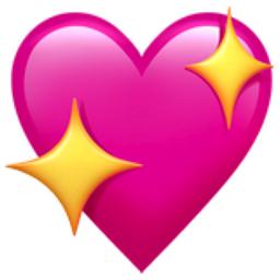 Sparkling Heart Emoji (U+1F496)