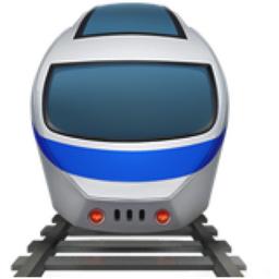 Train Emoji U 1f686