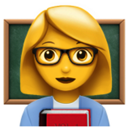 Woman Teacher Emoji U 1f469 U 200d U 1f3eb