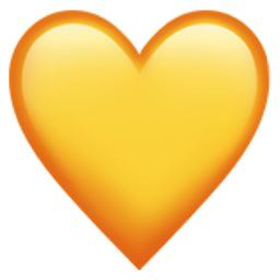 Yellow Heart Emoji U 1f49b