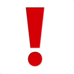 Exclamation Mark Emoji (U+2757, U+FE0F) Восклицательный Знак Gif
