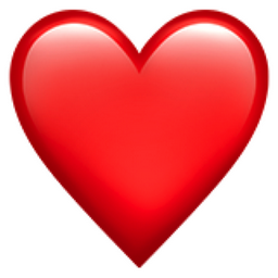 Image result for red heart emoji